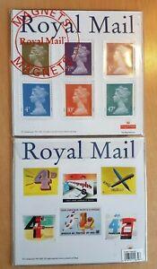 Royal Mail Poster / Fridge Magnets. 2 complete sets of six magnets.