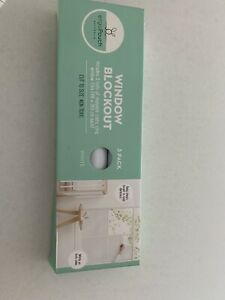ergoPouch Window Blockout, 2 Rolls (White) - 46 x 183cm Free Shipping!