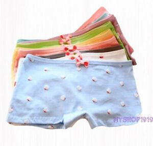 6 Pack Girls Boxer Shorts Briefs Pants GOOD Knickers Underwear Age 5-16 17 years