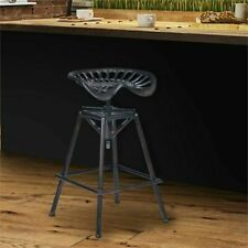 Armen Living Osbourne Adjustable Bar Stool in Industrial Copper Metal - GallyHo