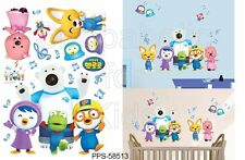 SFK Pororo and Friends Music Notes Wall Sticker