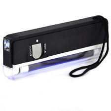Portable UV Handheld Note Checker Money Tester Black Light Counterfeits Forged