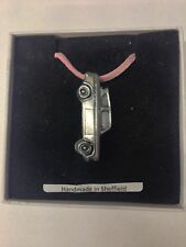 Ford Anglia 105E Saloon ref69 Car on Pink Cord Necklace Handmade 41CM