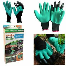 Garden Genie Gloves Digging & Planting With 4 ABS Plastic Claws Garden tool