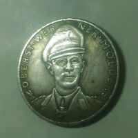 Piece WW2 1941 Guerre Allemagne Germany Coin Lutwaffe Heros Molders War Coin