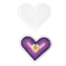 Hama Placa de varillas pequeños corazón para Perlas MIDI