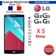 FILM PROTECTION plastique PET - LG G2 G3 G4 G5