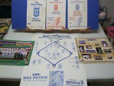 1970's 1980's  Omaha Royals Baseball SGA Collectibles Lot