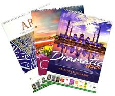 NOW REDUCED: Beautiful Islamic Hijri and Gregorian Wall / Desktop Calendar 2019