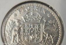 1962 Australian Silver 2/- TWO Shilling Florin QEII ( UNCIRCULATED)  (very Nice)
