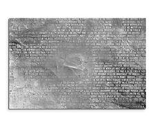 120x80cm abstrakt 1191 Schw/weiß Schrift Buch Leinwand Keilrahmen Sinus Art