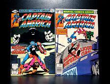 COMICS: Marvel: Captain America #251-252 (1980), Batroc & Mr Hyde app - RARE