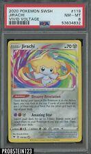 2020 Pokemon SWSH Vivid Voltage #119 Jirachi PSA 8 NM-MT