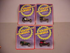 4 Golden Wheels toy cars MIP plastic & diecast metal  Antique models MOC