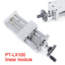 Ptlx100 Linear Module Stage Actuator Manual Translation Sliding Table Ball Screw