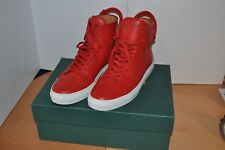 AUTHENTIC BUSCEMI high top RED SIZE 43