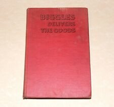 FIRST EDITION. Biggles Delivers The Goods. 1946. (1st Edition printing) WE Johns
