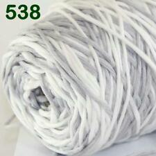 Sale New 400gr Cone Yarn Soft Cotton Super Bulky DIY Hand Knit Wrap Shawls 38