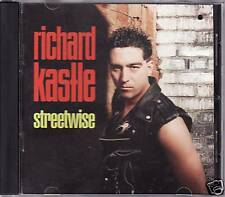 """RICHARD KASTLE """"STREETWISE"""" CD 1991 bach liszt virgin"""