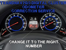 Nissian SPEEDOMETER CLUSTER  ODOMETER MILEAGE CORRECTION PROGRAMMING SERVICE