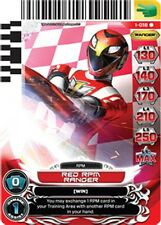 POWER RANGERS CARD RISE OF HEROES : Red RPM Ranger 018