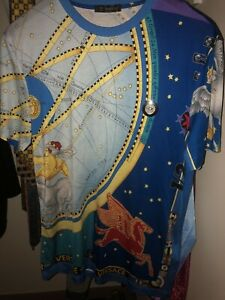 Authentic Rare Limited Silk Versace T-shirt