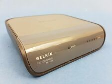 Belkin Wired 10/100 Network Switch 5 Port Fast Ethernet  Great Quality Product