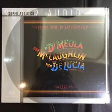 Al Di Meola Friday Night in San Francisco Live Single Layer SACD Limited No.