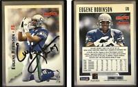 Eugene Robinson Signed 1995 Score #170 Card Seattle Seahawks Auto Autograph