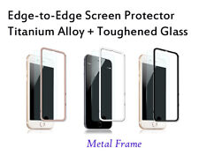 3D Curved Full Cover Tempered Glass Screen Protector For iPhone 8 Plus Black