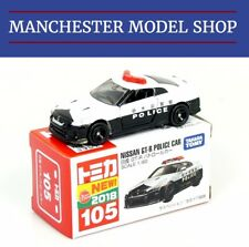 IN STOCK NOW - Tomica 105 Nissan R35 GT-R Japanese Police car BOXED UK STOCK!