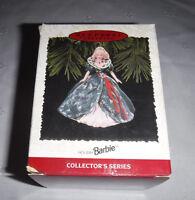 Hallmark Keepsake Ornament Barbie Christmas  Holiday Barbie 1995 Vintage