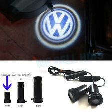 2x VW LED Benvenuto Proiettore Logo Ghost Shadow SPORTELLO Luce Trapano in miniatura