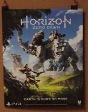 """Horizon Zero Dawn- Double Sided Poster- 16 x 20"""" -lot of 2 NEW Game Informer"""