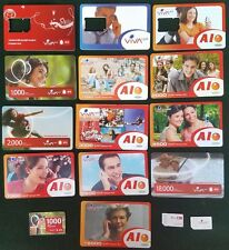 LOT OF 14+ PLASTIC CARD ARMENIAN PHONECARD ARMENIA PHONE COLLECTION VIVACELL SIM