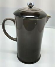 Le Creuset  French Press Coffee Maker  27 fl. oz. (3.4 Cups) Capacity Oyster