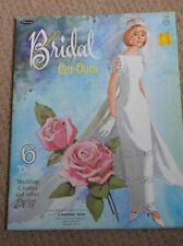 paper dolls    Bridal Cut-Outs    1966