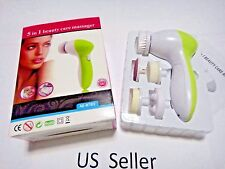 5 in1 Multifunction Electric Facial Cleaning Brush Skin Clean Spa Skin care USA
