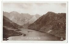 ISLE OF SKYE Loch Coruisk & Cuillins, Scottish Youth Hostel Postcard Posted 1957