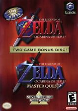 Zelda Ocarina Of Time Master Quest Nintendo Gamecube Complete