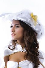 Déguisement Costume Dame blanche Pirate Chapeau Cape XL grande taille sexy