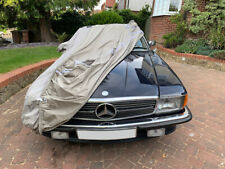 Mercedes SL (R107) with 2 Mirrors fitted 1971-1989 ExtremePRO Outdoor Car Cover