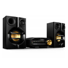 Mini cadena Philips Fx10/12 HiFi negra