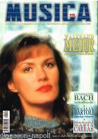 Música: Meier, Bach, Fidelio, Vivaldi, N 115 Diciembre 1999/Enero 2000 , Revista