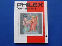 Briefmarken-Katalog  Philex 2018 unbenutzt  über Österreich  Marken   farbig