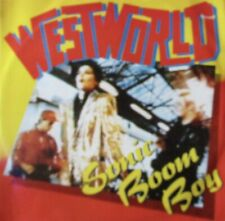 "WESTWORLD - Sonic Boom Bop ~ 12"" Single PS"