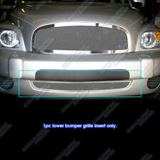 Fits 2006-2011 Chevy HHR Bumper Stainless Steel Mesh Grille Grill Insert
