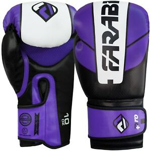 Farabi Pro Safety Tech MMA Muay Thai Training Sparring Boxing Gloves