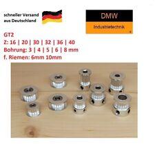 GT2 Zahnrad Antrieb Riemenscheibe Zahnriemenrad CNC 3D Drucker Kugellager Pulley