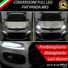 CONVERSIONE FARI FULL LED H4 + BAY15D FIAT PANDA MK3 6000K LED CANBUS XENON